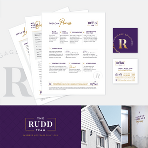 Linda Rudd Brand & Collateral Set (Designed at Creative Parc)