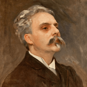 Gabriel Fauré, at this stage a young and mostly  unknown composer who still relies on teaching for his income. he takes an immediate fancy to the American violinist and delights in performing some of his recent  works  with her.