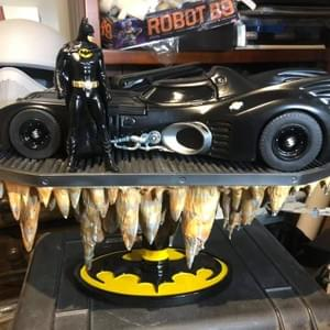 Keating  Batmobile Diorama