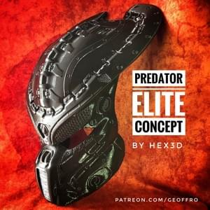 Custom - Predator Elite Helmet and Stand