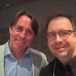 In New Orleans with Chef John Besh at the Research Chef Association National Convention