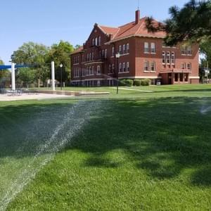 College Sprinklers