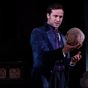 Hamlet (Jonathan Forbes); Photo: Will O'Hare