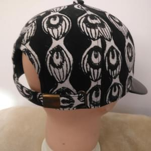 Block Print Canvas Baseball Cap