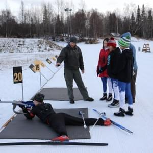 Arctic Winter Games Coach Simon Gilliland has helped Nome Nordic and WISA  athletes  at several AWGs.