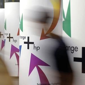 Corporate campaign for Hewlett Packard for the airports of Milan and Rome. 2006.