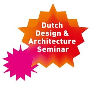 Logo and event style design for a seminar on Dutch Design & Architecture in Seoul, South Korea. As creative director at Studio Dumbar China. 2010.
