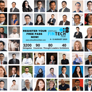 Virtual FinTech Fair Speaker Card
