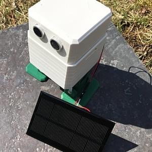 Otto DIY with solar panel charging