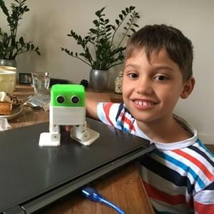 Otto DIY built by a Kid