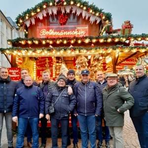With Liberty International Polish Group at Frankfurt Christmas Market 2019