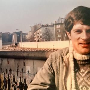 Dr. Patrick Patridge 1985 at Berlin Wall