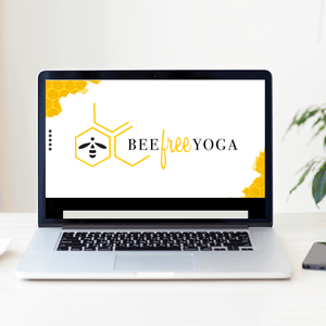 Bee Free Yoga Website Design | March 2017