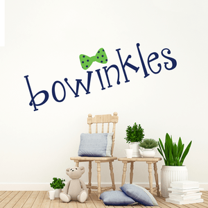 Logo Design for Bowinkles Children's Boutique