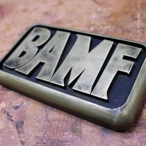 BAMF Belt Buckle - Overwatch