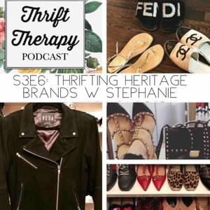 High end goodies Stephanie has in her closet that she thrifted.
