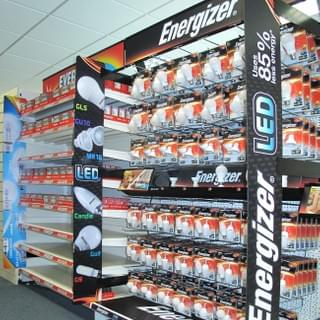Ripple Group Energizer Retail Displays Nationwide Rollout