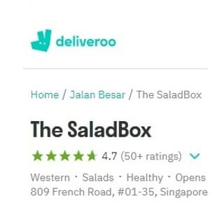 The Salad Box Singapore Lavender