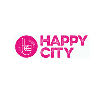logo of happy city