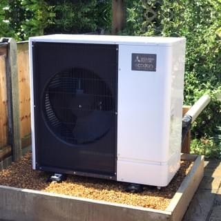Air source heat pumps, solar electric panels,solar thermal panels