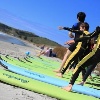 holiday surf programs at omaha beach