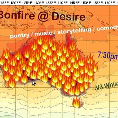 2017 February Bonfire Open Mic night