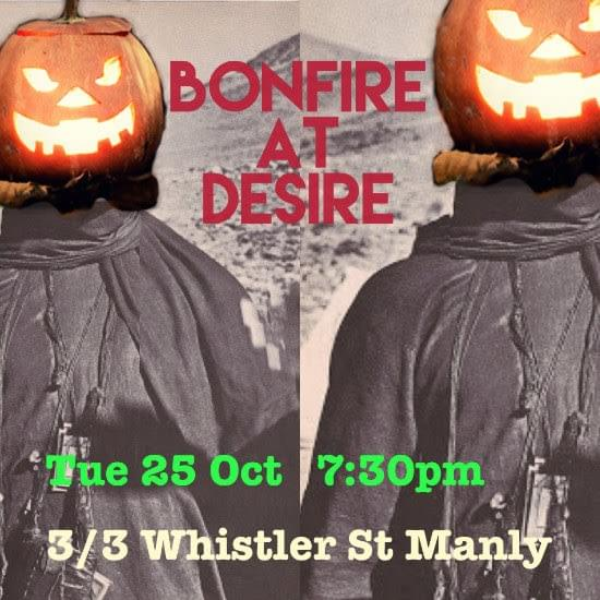 2016 October Bonfire Open Mic night