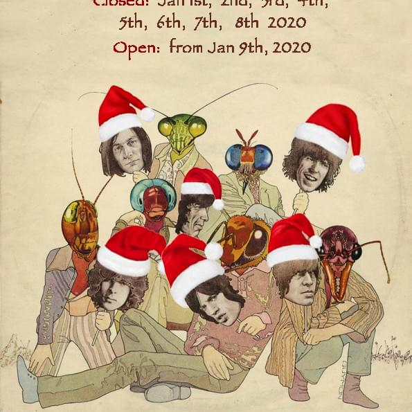 2019 Vintage Record Christmas hours
