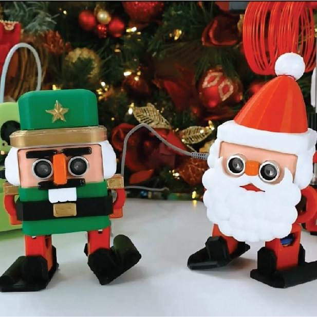 Otto DIY Christmas Nutcracker & Santa Claus