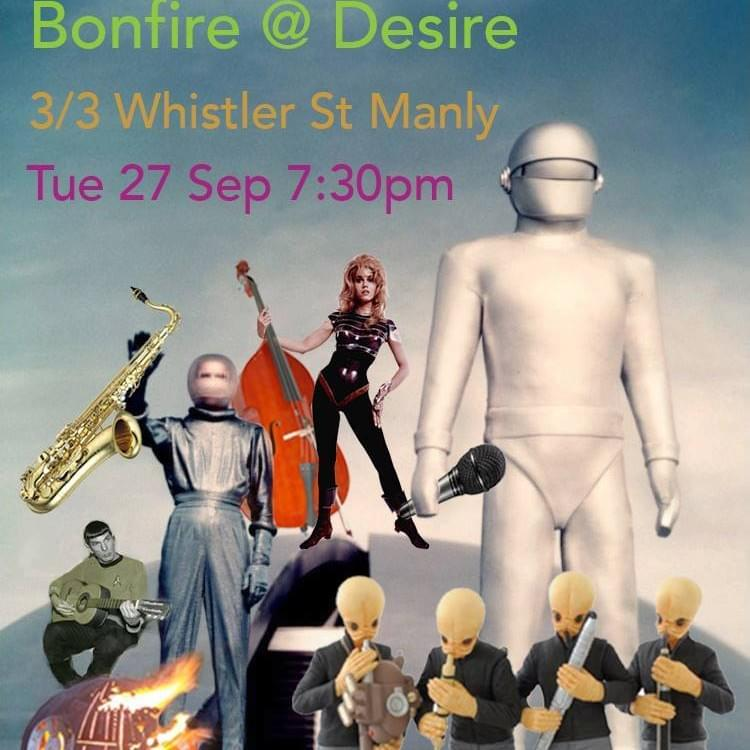 2016 September Bonfire Open Mic night