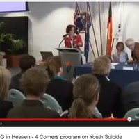 Facilitating the Casey Youth Suicide Forum featured on Four Corners 'There's No 3G in Heaven' September 2012