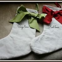 Bow stockings