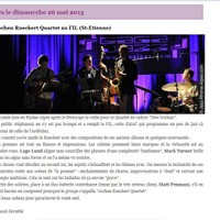 jazz rhone, blog France 2013