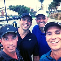 Another great speedgolf round on the Navy course, September 4th 2014