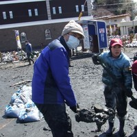 2011年被災地ボランティア1