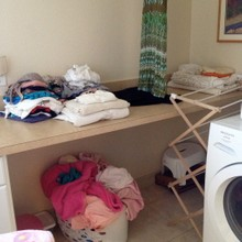 Before-Laundry room