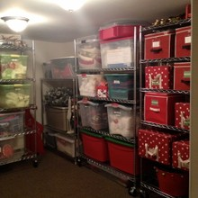 After-Holiday storage room