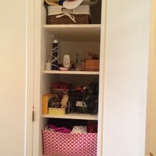 Before-Closet storage