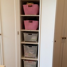 After-Closet storage