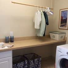 After-Laundry room