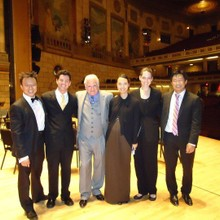 Mark Tse with RPO conductors 2011.