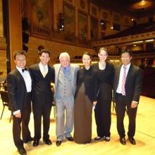Mark Tse with RPO conductors 2011.