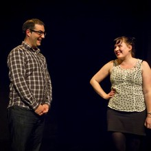 With Steven Youngblood, Duets WIT Christmas Cracker 2012 Gryphon Theatre Wellington