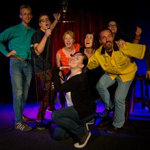 'Intro to Long Form' graduation show, 2013  Fringe Bar,  Wellington