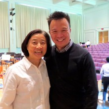 Apo Hsu with Mark Tse