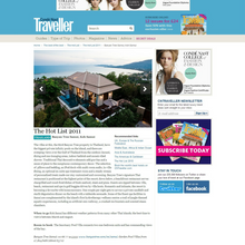 Condé Nast Traveller - The Hot List
