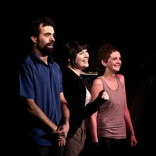 With Geoff Simmons and Mary Little, Improv Lounge 2012 Fringe Bar Wellington