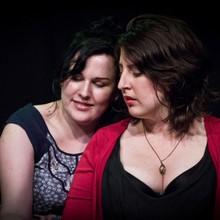 With Chrisitne Brooks, Improv Divas WIT's Christmas Cracker 2013 Gryphon Theatre  Wellington