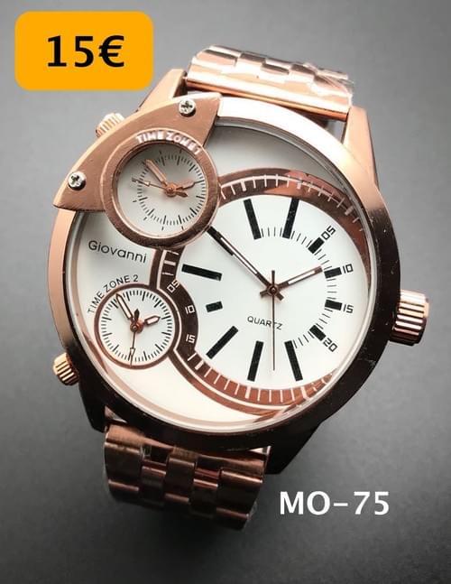 Blanco Y Automatico Cwderxoeqb Reloj Plateado Mosanz X8wOk0nP