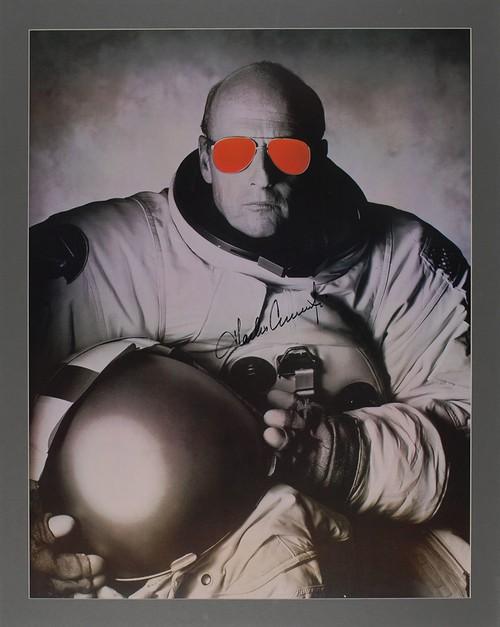 Apollo 12 : Charles Conrad signed enormous photo